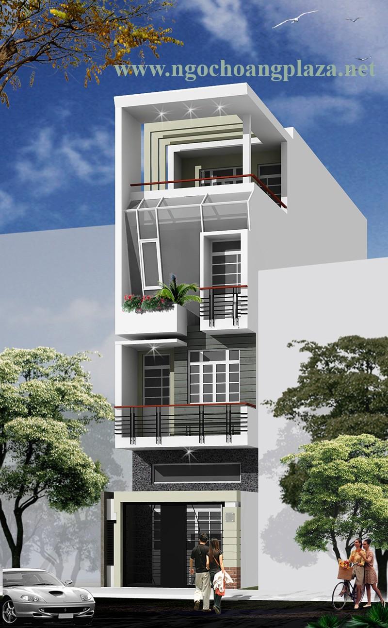 Xây dựng nhà phố đẹp trọn gói