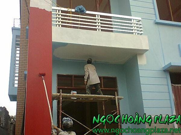 Dịch vụ sơn nhà tại quận 1